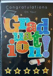 Congratulations On Your Graduation Greeting Card Ebay