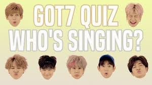 Hair Style Quiz got7 quiz who is singing youtube 4113 by wearticles.com