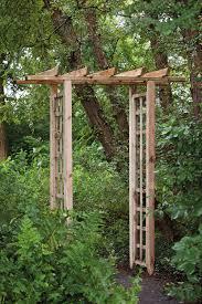 rectangular trellis garden arch home depot bunnings full size