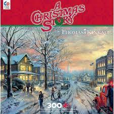 Ceaco Thomas Kinkade - A Christmas Story Jigsaw Puzzle (300 ...