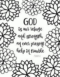 15 Printable Bible Verse Coloring Pages Verses And Pdf Free For Kids