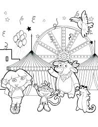 circus coloring pages for preschool circus coloring page carnival coloring page circus coloring pages preschool free