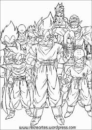 Dragon Ball Z Coloring Pages Printable Coloring Pages Dragon