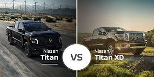 Nissan Titan Vs Nissan Titan Xd Brotherly Pickup Truck Battle