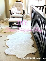 pink faux fur area rug rugs white sheepskin hot light high q