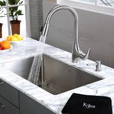 discontinued kraus 30 inch undermount single bowl 16 gauge stainless steel kitchen sink with kitchen