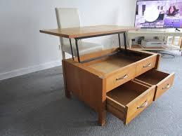 laura ashley milton oak coffee table 2 drawer folding dining table 1 of 12free