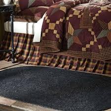 black jute rug oval 9x12