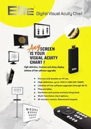 Digital Vision Chart Details About Elite Ophthalmic Digital Visual Acuity System Chart Vision Software W Remote