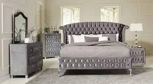 Deanna Upholstered Platform Bedroom Set Bedroom Sets Bedroom