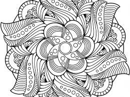 Disegni Di Mandala Floreali Da Colorare Pagine Da Colorare Con Fiori