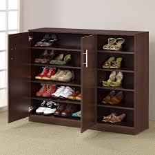 shoes storage furniture. Image Of: Baxton Studio Adalwin 3 Door Entryway Shoes Storage Cabinet Pertaining To Shoe Furniture