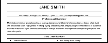 Sample Of Qualifications In Resumes The All Time Best Free Resume Samples Myperfectresume