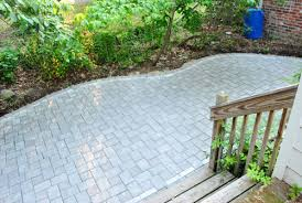 how to build a paver patio it s done