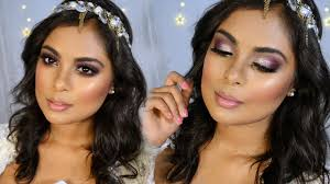 sparkly summer bridal wedding makeup tutorial flawless full face makeup look for any occasion you