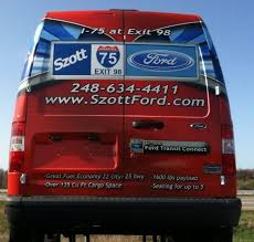 Wrapped By Steel Skinz Graphics, A Ford Transit Connect Wrap For Szott Ford  Dealership. Www.steelskinz.com