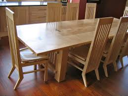 Light Maple Dining Table And Chairs