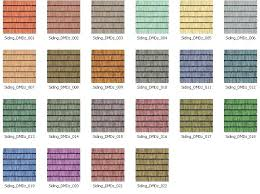 Mitten Siding Color Chart Vinyl Siding Color Chart Vytec Colors