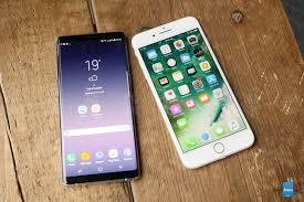 So sánh nhanh Samsung Galaxy Note 8 và iPhone 7 Plus: Đại chiến bắt đầu! -  So sanh nhanh Samsung Galaxy Note 8 va iPhone 7 Plus- Dai chien bat dau -  daubao.com