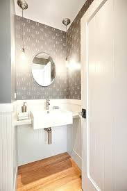 powder room sinks sink with bulb pendant lights farmhouse and small70