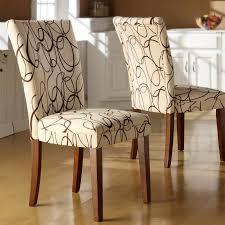 parson chair slipcover black