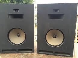 vintage klipsch bookshelf speakers. pair of vintage klipsch cornwall ( cd-br ) spks, local pickup only! bookshelf speakers