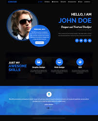 Topic Related to 15 Best Html Resume Templates For Awesome Personal Sites  Website Template D
