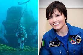 Samantha Cristoforetti a capo della missione Neemo 23 in fondo al mare -  greenMe