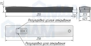 <b>WINCH</b> Механизм для открывания фасада вниз, правый, 140N ...