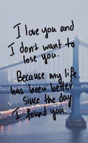 I Love You Quotes Interesting Best Love Quotes I Love You And I Don't Want To Lose You BoomSumo