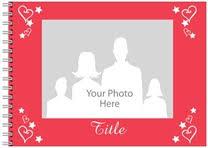 photo book hearts from vistaprint