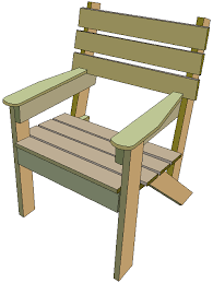 Small Picture Free garden chair plans BuildEazy project page 1 Introduction