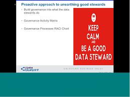 Data Governance Raci Chart Data Ed Online Best Practices In Data Stewardship Technical 20161108 1900 1