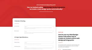 Cool Web Design Company Names Introducing My New Web Design Quote Calculator Tool Andrew