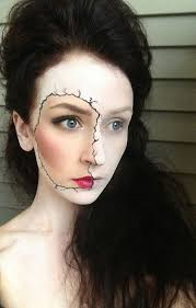 broken porcelain doll makeup i think this would also look amazing with a pop art style face 21 easy hair and makeup ideas for