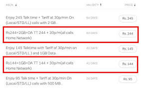 Airtel Rate Chart Airtel Introduces 5 New Smart Recharge Prepaid Plans