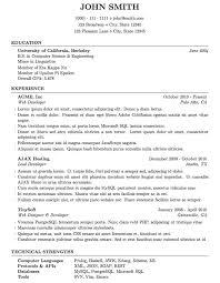 Resume Or Curriculum Vitae Samples Beauteous Curriculum Vitae Resume Courtnews