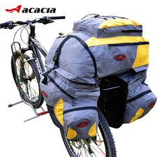 bicycle gel seat cover reviews acacia multifunction nylon bike seat bag bicycle pannier with