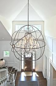 2 story foyer chandelier terior how high to hang in height entryway lighting