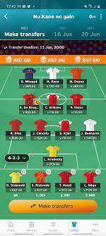 Anyone playing Euro fantasy? If so send your team 🙂: Euro2020