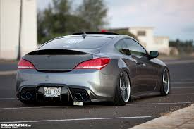 KDM Style // Craig's sexy Hyundai Genesis Coupe. | StanceNation ...
