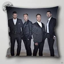 Boyzone Person Pillow Case Chusion Cover 1 Or 2 Side
