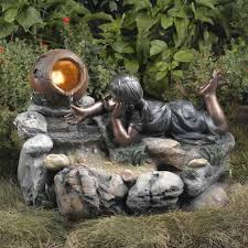 fountains for gardens. Unique Outdoor Water Fountains Splendid Design Inspiration 15 Nature Whispering Of Garden For Gardens