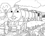 Раскраски томаса и его друзей