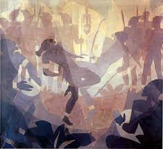 in an african setting 1934 by aaron douglas from art in time
