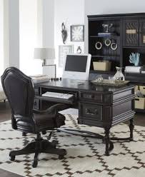 Goodwin Ebony Home fice 8 Piece Set Executive Desk Chair 2