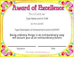 Samples Of Awards Certificates Award Certificate Samples Editable Quarterly Awards