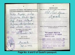 quaid e azam muhammad ali jinnah s memorabilia personal  memorabilia of quaid e azam page no 4 and 5 of quaid s