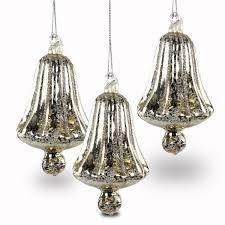 Sikora Bs231 Christbaumschmuck Aus Glas Glocke Silber