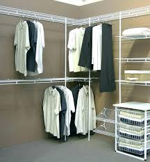 closetmaid wire rack closet maid shelving fixed wire systems organizer kit with shoe shelf 5 to